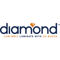 "3"" Core Diamond LM/UV Series Roll Laminate"