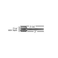 "1/4"" x 2"" Titanium Challenge / Spinnit Style A Drill Bit"