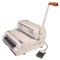 CoilMac-ECI 4:1 Manual Punch & Electric Inserter