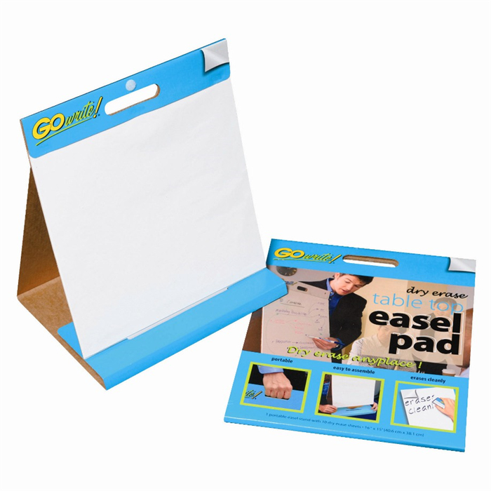 Gowrite 174 Dry Erase Table Top Easel Pads 16 Quot X 15