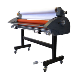 """RSC-1402CW 55"""" Cold Roll Laminator with Rear Winder"""