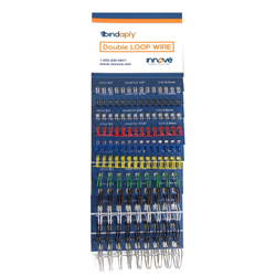 Bindaply Double-Loop Wire Colour Guide