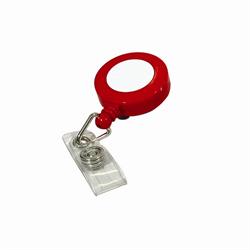 SECURpro Badge Reels - Red 25/Pack