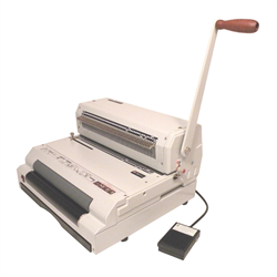 CoilMac-ECI Plus 4:1 Manual Punch & Electric Inserter